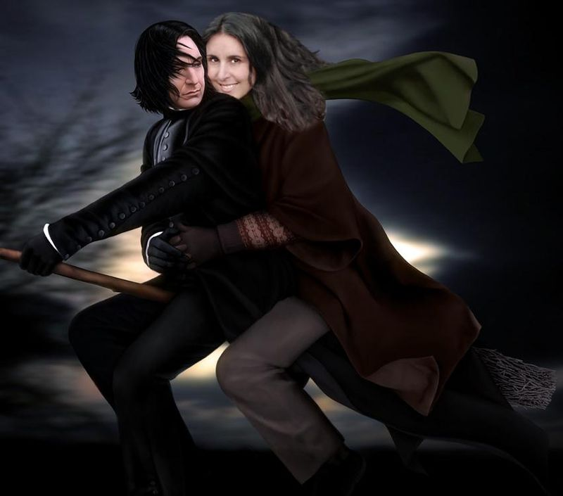 Me-and-snape